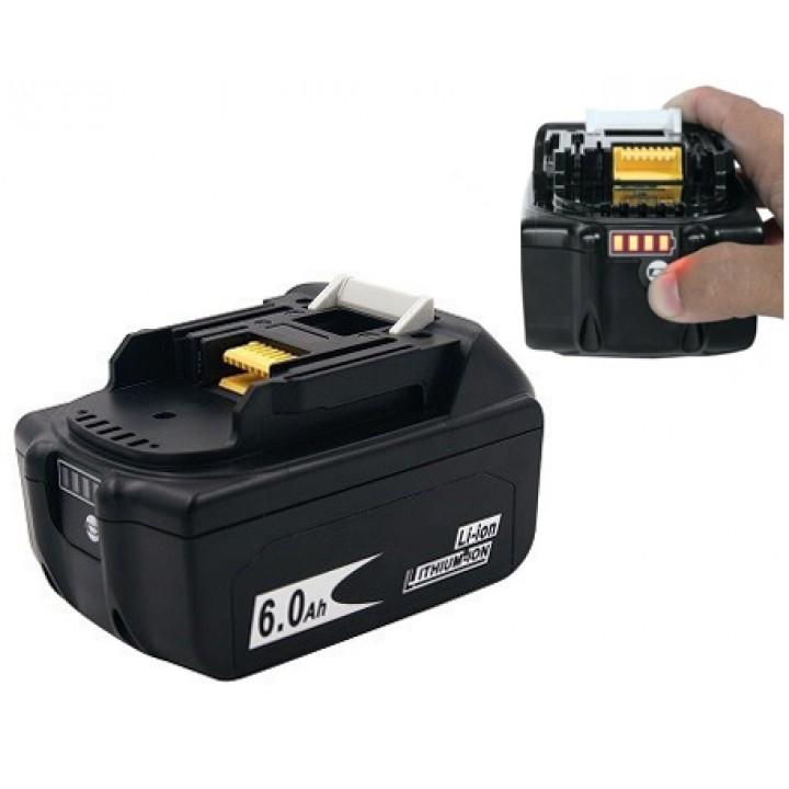 Акумулятор для ручного інструменту Makita 18В 6Ач, Li-ion, BL1860B, 101309