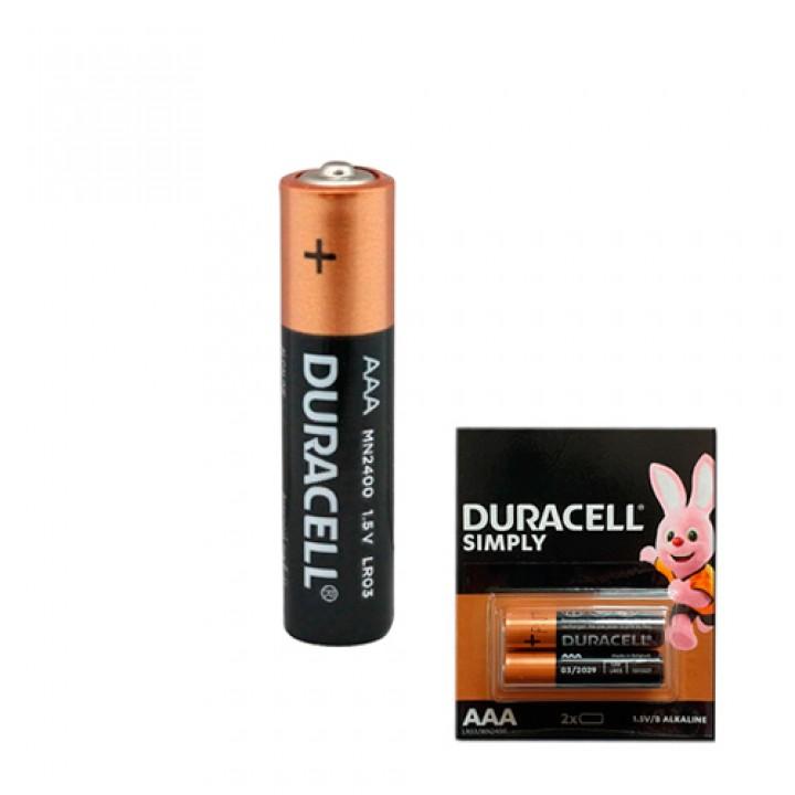 Батарейка AAA LR03 Duracell Simply Лужна 1.5В, 100426