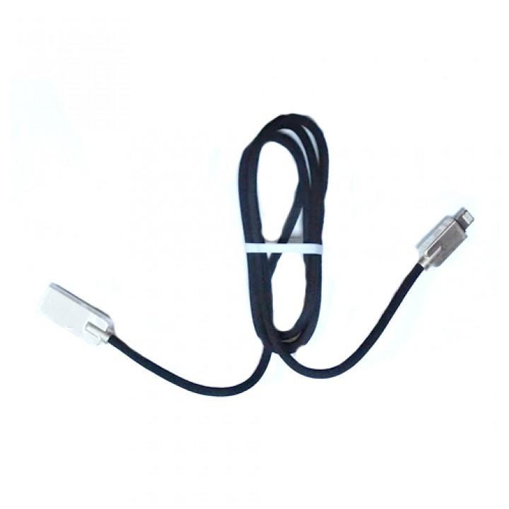 USB дата кабель Lightning 1м для Apple iPhone, iPad, iPod, в обплетенні, 105620