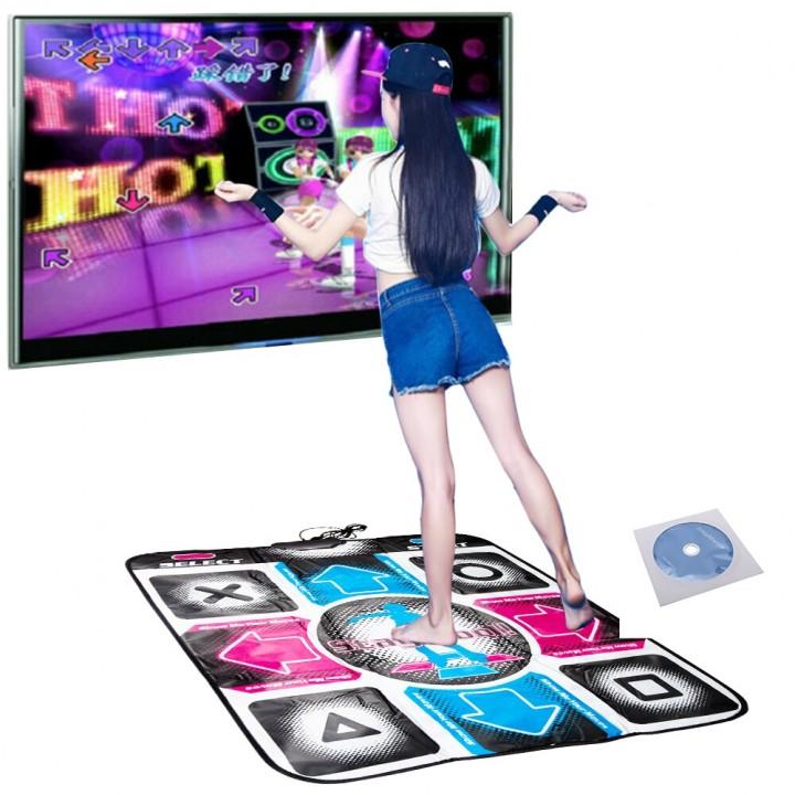 Танцювальний килимок навчальний USB і TV, 80х90см, Dance Revolution, 105644