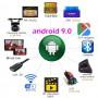 """Автомагнітола 10.1"""" 1/16ГБ Android 9 Wi-Fi GPS 2xUSB MP5 2 DIN з ДУ, 105645"""