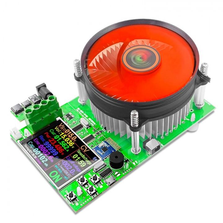 Електронне навантаження 150Вт 200В 20А Bluetooth USB тестер, Atorch DL24, 105666