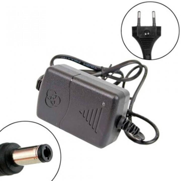 Блок живлення, мережевий адаптер 12В 1А 5.5x2.1мм 5.5x2.5мм CCTV Arduino, 104915