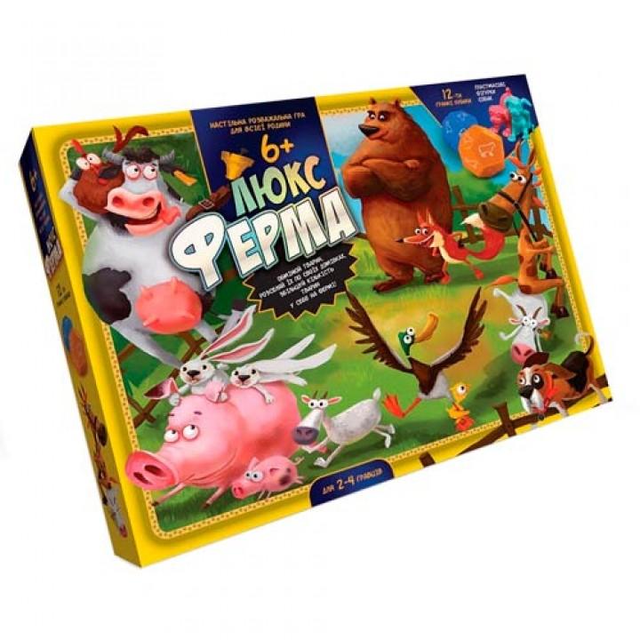 Настільна гра Ферма Люкс, супер фермер, Danko Toys G-FL-01-02, 105581