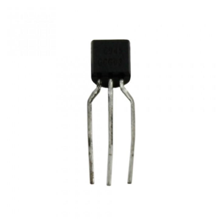 Чіп C945 TO92, Транзистор біполярний NPN, підсилювач ВЧ, 102567