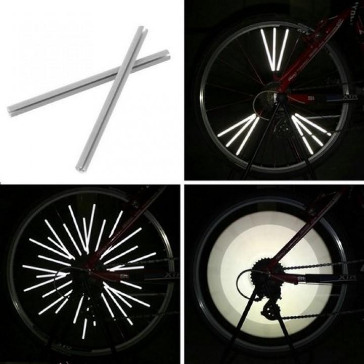 Світловідбиваючі рефлектори на спиці велосипеда, 12, 103594