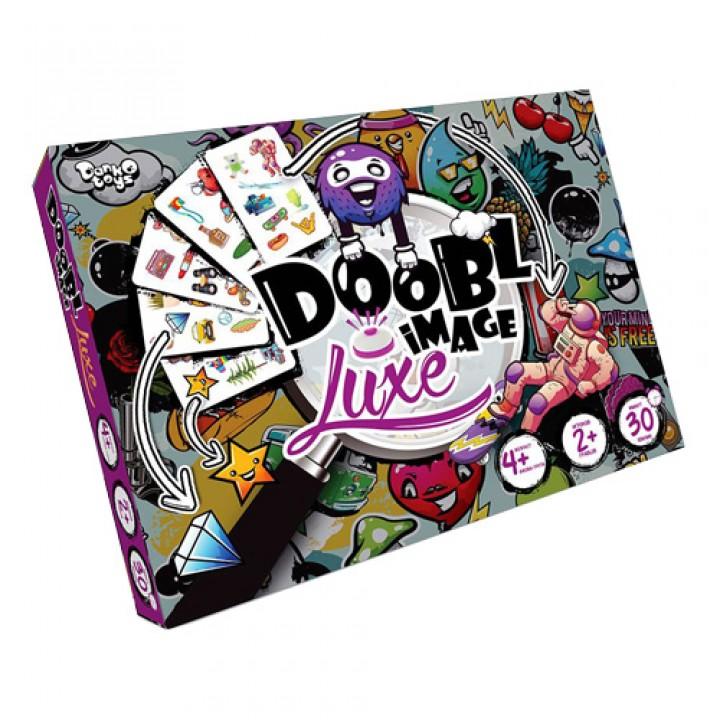 Настільна гра Doobl Image Luxe, 56 карт, Danko Toys, DBI-03-01, 105580