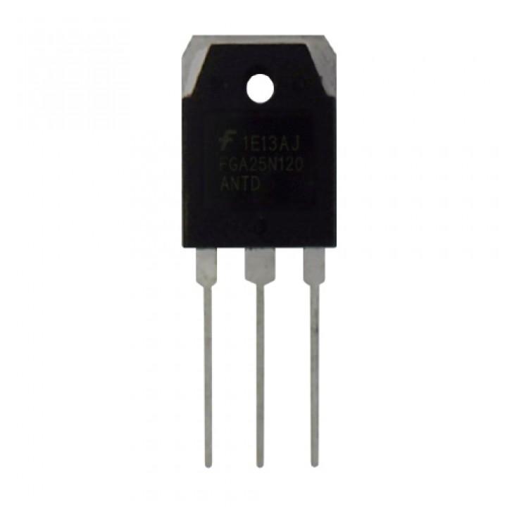 Чіп FGA25N120 25N120 TO-3P, Транзистор IGBT 1200В 25А + діод, 102278