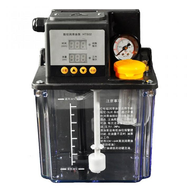 Масляної насос Система змащення 2л з манометром для станка ЧПУ HTS02, 104662