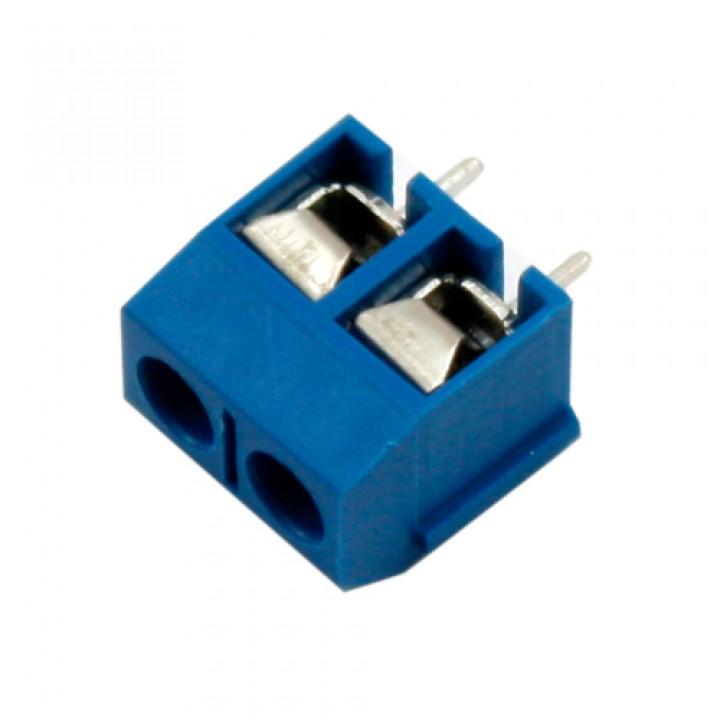 Клемна колодка на 2 контакту, крок 5мм KF301-2P, 102589