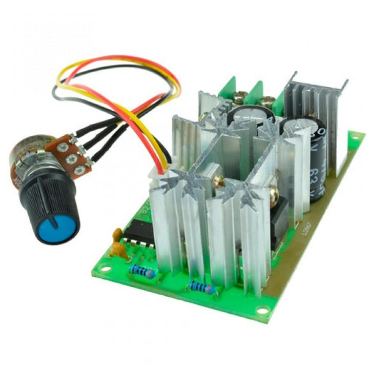 ШІМ регулятор швидкості двигуна DC 10-60В 20А 1200Вт 25кГц оборотів, 103025