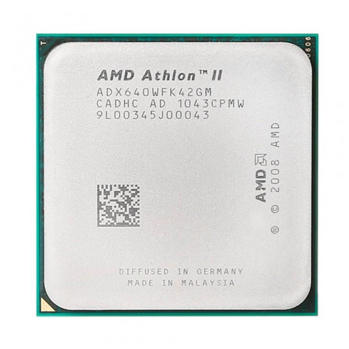 Процесор AMD Athlon II X4 640, 4 ядра, 3ГГц, AM2 +, AM3, 101925