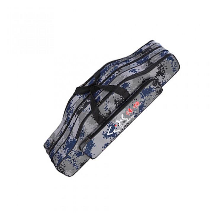 Чохол сумка для вудок вудилищ 80см, 3 секції, напівтвердий, 105526