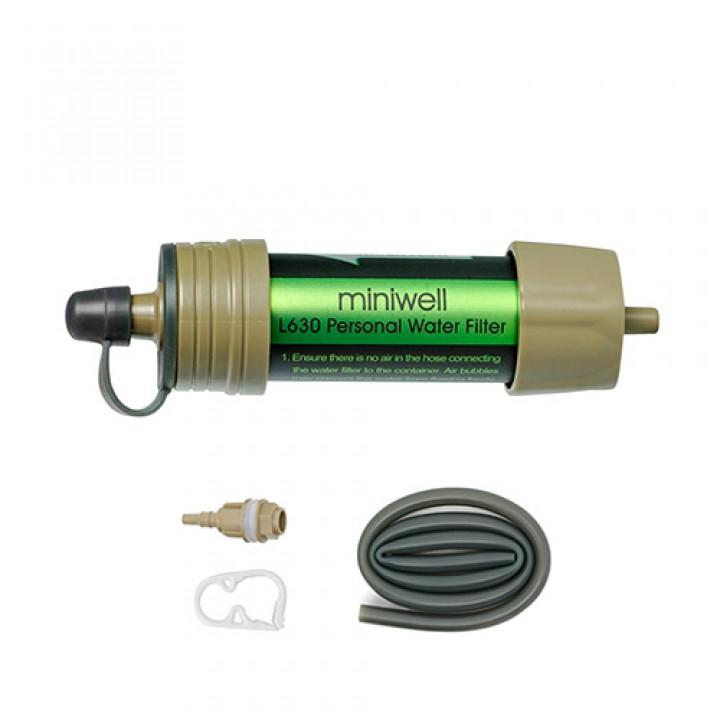 Портативний фільтр для води туристичний переносний Miniwell L630, 103407