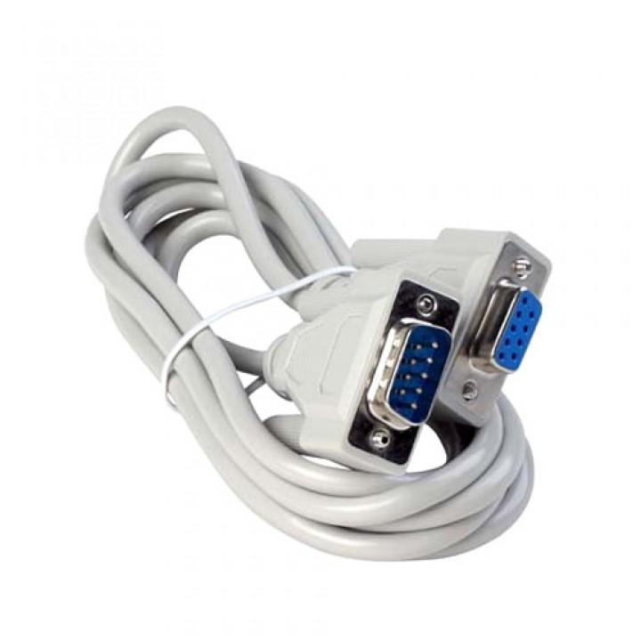 Нуль-модемний кабель RS232 DB9 COM тато-мама 1.4м, 101915