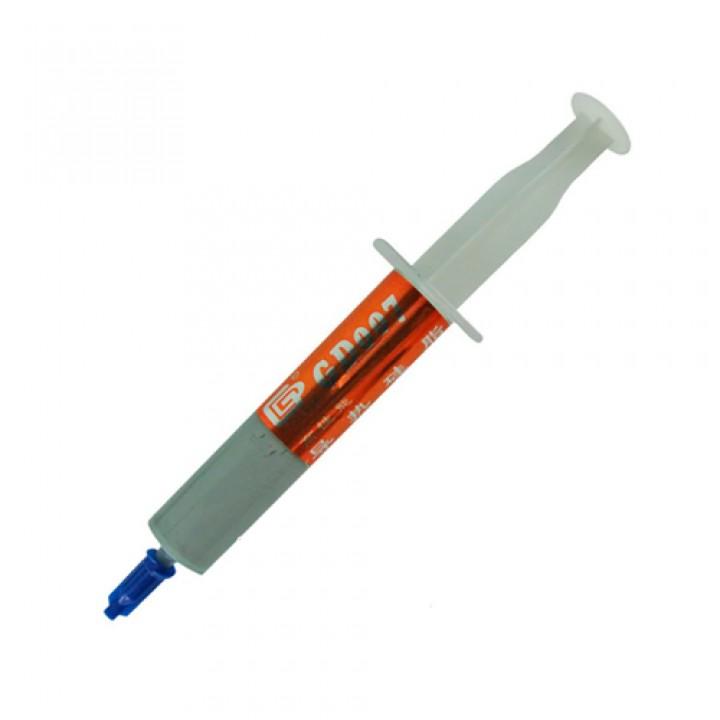 Термопаста GD007 Premium 15г, з сріблом 6.8 Вт / м * K, 105586